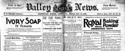 Shenango Valley News newspaper archives