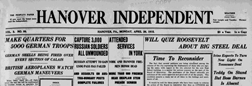 Hanover Independent newspaper archives