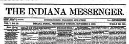 Indiana Messenger newspaper archives