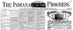 Indiana Weekly Progress newspaper archives