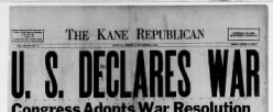 Kane Republican newspaper archives