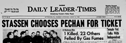 Daily Leader Times newspaper archives