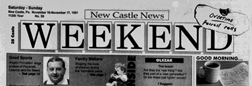 New Castle News Weekend newspaper archives