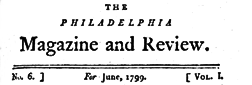 Philadelphia Magazine And Review newspaper archives