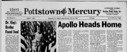 Pottstown Mercury newspaper archives