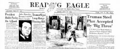 Reading Eagle newspaper archives