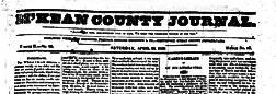 Mckean County Journal newspaper archives