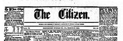 Smethport Citizen newspaper archives