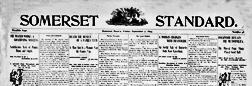 Somerset Standard newspaper archives