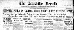 Titusville Herald newspaper archives