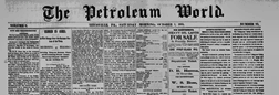 Titusville Petroleum World newspaper archives