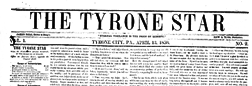 Tyrone Star newspaper archives