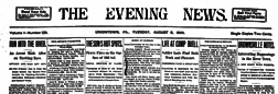 Uniontown Evening News newspaper archives