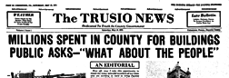 Uniontown Trusio News newspaper archives