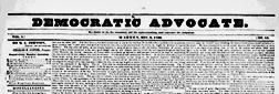 Warren Democratic Advocate newspaper archives