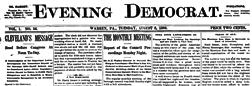 Warren Evening Democrat newspaper archives