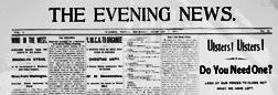 Warren Evening News newspaper archives