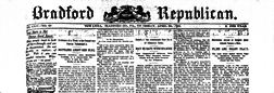 Bradford County Republican newspaper archives