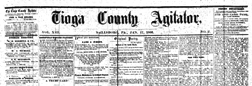 Tioga County Agitator newspaper archives
