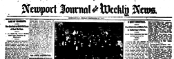 Newport Journal And Weekly News newspaper archives