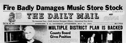 Aiken Daily Mail newspaper archives