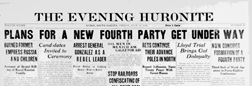 Huron Evening Huronite newspaper archives