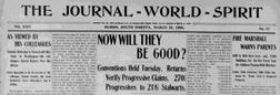 Huron Journal World Spirit newspaper archives