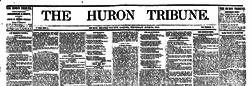 Huron Tribune newspaper archives