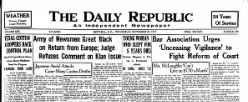 Daily Republic newspaper archives