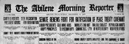 Abilene Morning Reporter newspaper archives