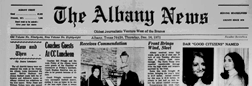 Albany News newspaper archives