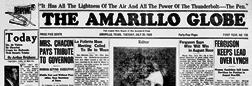 Amarillo Globe newspaper archives