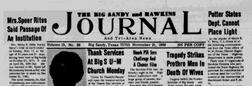 Big Sandy Hawkins Journal And Tri Area News newspaper archives
