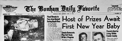 Bonham Favorite newspaper archives
