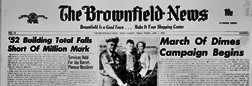 Brownfield News newspaper archives