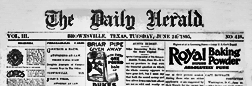 Brownsville Daily Herald newspaper archives