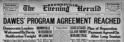 Brownsville The Evening Herald newspaper archives