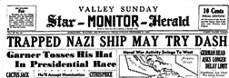 Valley Star Monitor Herald newspaper archives