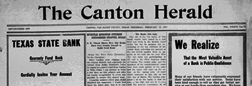 Canton Herald newspaper archives