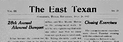 Commerce East Texan newspaper archives
