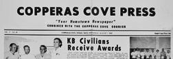 Copperas Cove Press newspaper archives