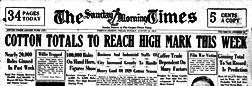 Corpus Christi Morning Times newspaper archives