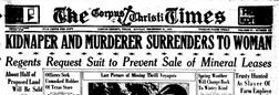 Corpus Christi Times newspaper archives