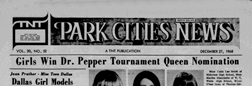 Dallas Park Cities News newspaper archives
