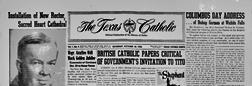 Dallas Texas Catholic newspaper archives