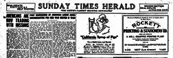 Dallas Times Herald newspaper archives
