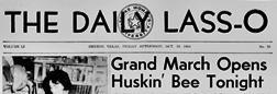 Denton Daily Lass O newspaper archives