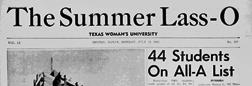 Denton Summer Lass O newspaper archives