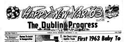 Dublin Progress newspaper archives