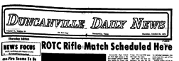 Duncanville Daily News newspaper archives